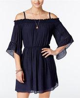 Amy Byer Juniors' Off-The-Shoulder Dress