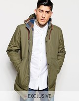 Minimum Parka With Hood Exclusive - Green