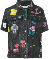 P.A.R.O.S.H. painted short sleeve jacket