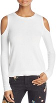 Alice + Olivia Wade Cold-Shoulder Sweater