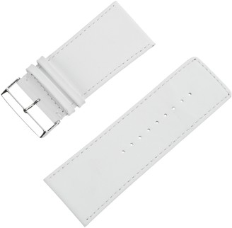PURE Grey Leather Strap 71S-Chur 38/36 White