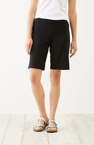 J. Jill Pure Jill Cotton-Stretch Bermuda Shorts