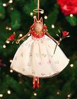 Patience Brewster Krinkles Grace Rose on Her Toes Christmas Ornament