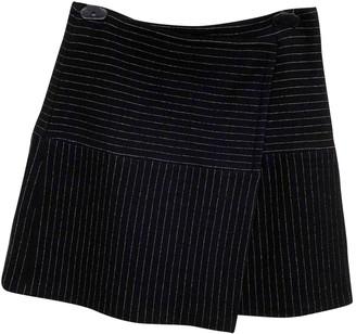 Alice + Olivia Black Wool Skirt for Women
