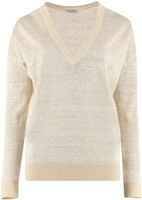 Brunello Cucinelli Linen Sweater