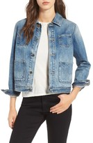 AG Jeans Women's Andy Crop Denim Jacket