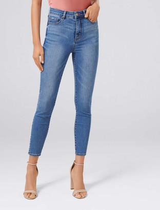 Forever New BELLA HIGH RISE SCULPTING JEAN - Florence Blue - 8