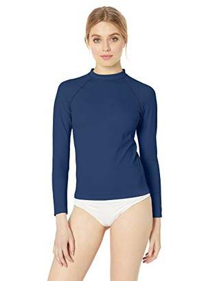 Amazon Essentials Women's UPF 50+ Long-Sleeve Rash Guard
