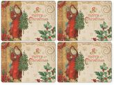 Pimpernel Victorian Christmas Placemats in Multi (Set of 4)