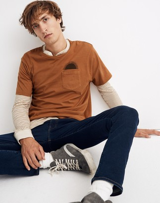 Madewell Mollusk Country Sun Graphic Pocket Tee