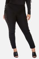 Fashion to Figure Christie Lace Up Side Skinny Pants