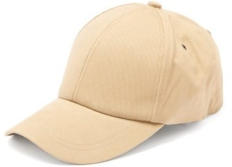 Paul Smith Signature Stripe-patch Cotton-twill Baseball Cap - Mens - Khaki