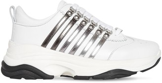 DSQUARED2 45mm Bumpy 251 Leather Sneakers