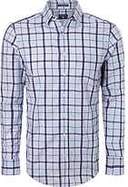Gant Dobby Check Long Sleeve Shirt, Hamptons Blue