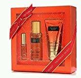 Victoria's Secret NEW! Passion Struck Gift Set with Passion Struck Mist 75ml, Lotion 75ml, and Mist 7ml