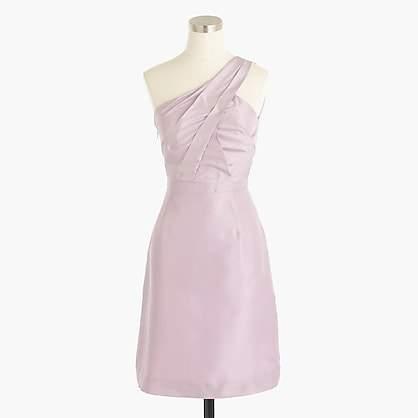 J.Crew Cassie dress in slub silk