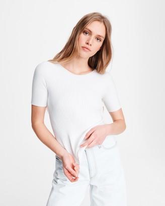 Rag & Bone Kishi seamless short sleeve