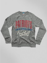 Junk Food Clothing Kids Nfl New England Patriots Sweatshirt-heather Grey-xs