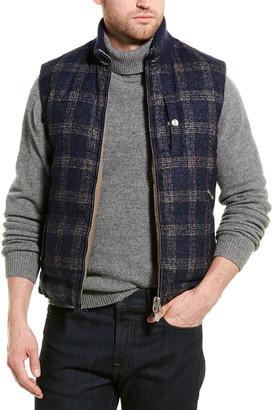 Brunello Cucinelli Reversible Alpaca & Wool-Blend Down Vest