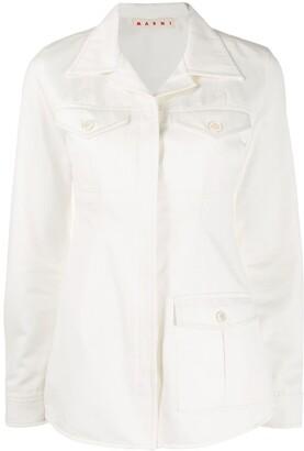 Marni Buttoned Flap Pockets Shirt