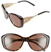 Burberry 57mm Oversized Sunglasses