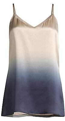 Lafayette 148 New York Women's Eva Silk Gradient Camisole Top