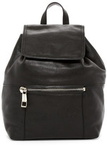 Sorial Talia Pebbled Leather Backpack