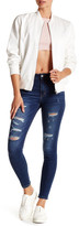 Just USA Distressed Front Skinny Jean