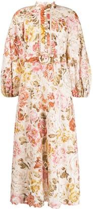 Zimmermann Bonita floral print dress