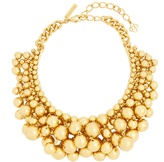 Oscar de la Renta Sphere-embellished necklace