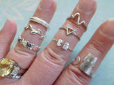 Etsy Shop Sale.. Stack Ring, Knuckle Ring, Midi Ring, you choose Stacking Stackable Ring animal heart arr