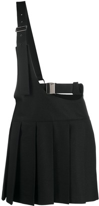 Junya Watanabe Buckled Strap Pleated Skirt