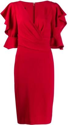 Talbot Runhof Tondril dress