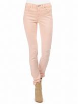 Rag and Bone RAG & BONE Skinny Jean With Holes In Peach