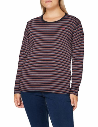 Levi's Plus Size Women's Pl Long Sleeve Baby Tee T-Shirt