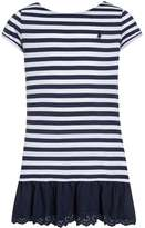 Polo Ralph Lauren Jersey dress spring navy/white