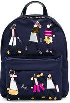 Versace appliqué backpack