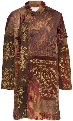 By Walid Rufus 19th Century long silk jacket