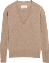 Maison Margiela Layered cashmere sweater