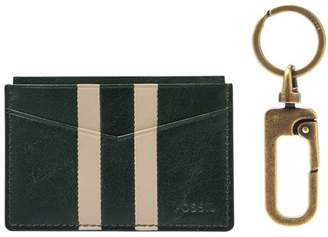 Fossil Card Case And Key Fob Gift Set Accessories Spruce
