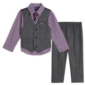 Nautica Baby Boys Holiday Twist Vest Set