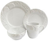 Jay Import White Frutta 16-Piece Dinner Set