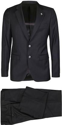 Lardini Black Two-piece Suit
