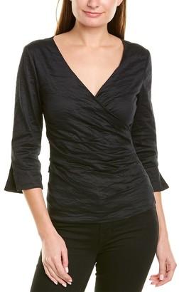Nicole Miller 3/4-Sleeve Sheath Top