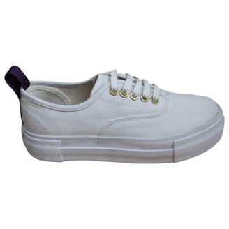 Eytys White Cloth Trainers