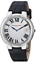 Raymond Weil Women's 5235-STC-00970 Jasmine Analog Display Swiss Quartz Black Watch