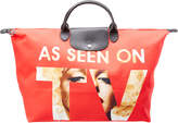 Longchamp X Jeremy Scott As Seen On Tv Nylon Travel Bag