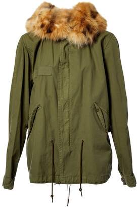 N. Mr & Mrs Furs \N Khaki Cotton Coats