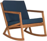 Safavieh Outdoor Lindsey Rocking Chair, Navy