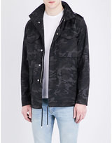 Sandro Camo-print cotton jacket